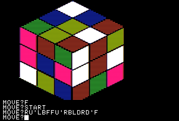 My Apple II cube emulator