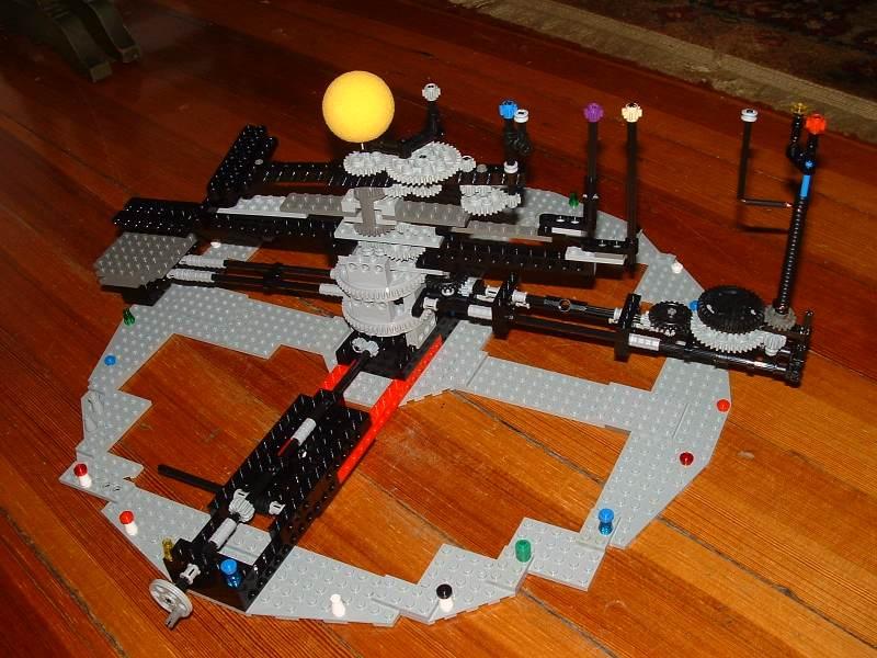 Orrery Designs Using Legor Elements At Mrob