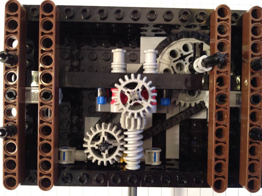 Stacked Turntable Module (method 3) Building Instructions at MROB